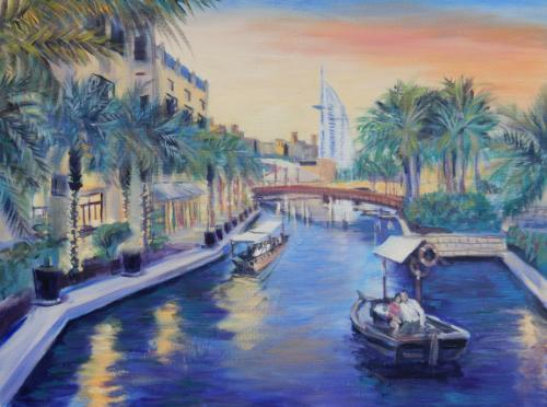 Artwork Dubai Al Abra