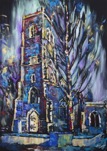 St Clement's Church, Ipswich by Lois - Use the 'Create Similar' button to commission an artist to create your own artwork.