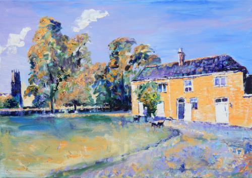 Artwork Fotheringhay Manor Farm