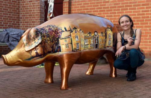 Artwork Pig-geswyk (Pigs Gone Wild)