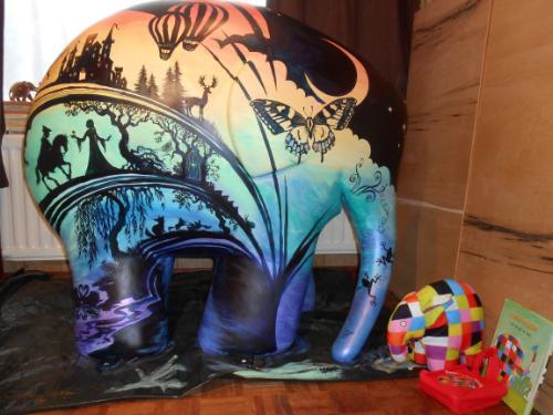 Artwork Imagination can take you anywhere (Elmer)
