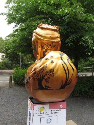 'Once Upon A Fairytale' for Telford art trail by Lois - Use the 'Create Similar' button to commission an artist to create your own artwork.