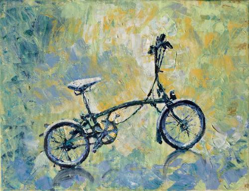Artwork Brompton Bicycle Memorial Commission