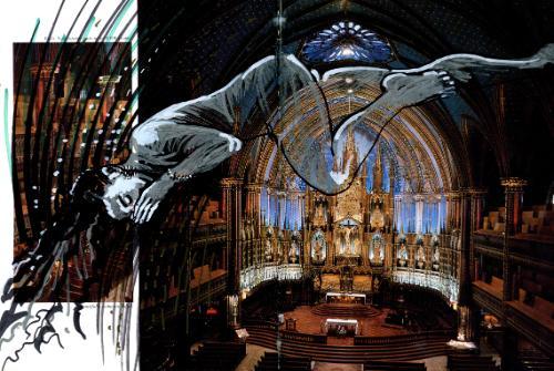 Artwork Dream Over Notre Dame