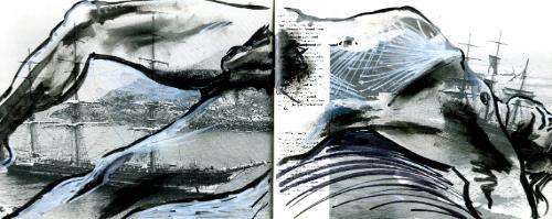 Artwork Shipwreck (life sketch)