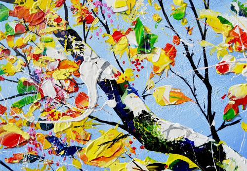 Sunlight on Leaves by AndrewA - Use the 'Create Similar' button to commission an artist to create your own artwork.