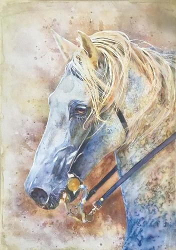 Artwork White Horse