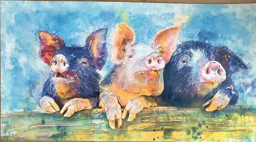 Artwork Pigs!