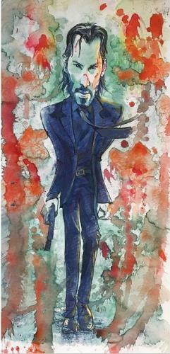 Artwork John Wick / Keanu Reeves