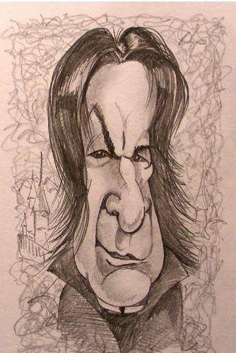 Artwork Severus Snape / Alan Rickman