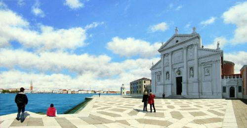Campo San Giorgio by SteveW1960 - Use the 'Create Similar' button to commission an artist to create your own artwork.