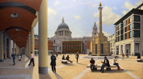 Artwork Paternoster Square