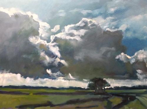 Artwork Wiltshire skies