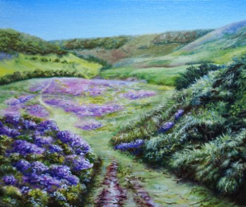 Artwork SOLD Horcum Moors Path