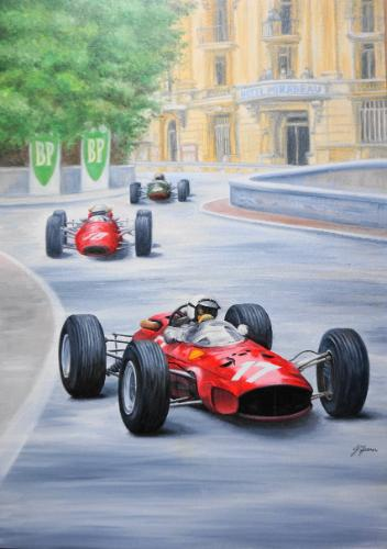 Artwork Monaco Grand Prix 1965