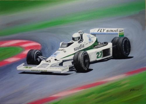 Artwork 1978 Williams Ford FW06