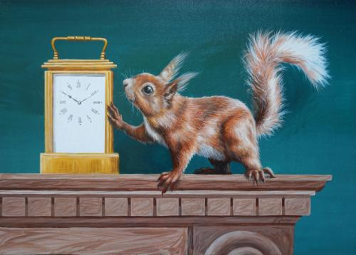 What's the time? by JayneF - Use the 'Create Similar' button to commission an artist to create your own artwork.