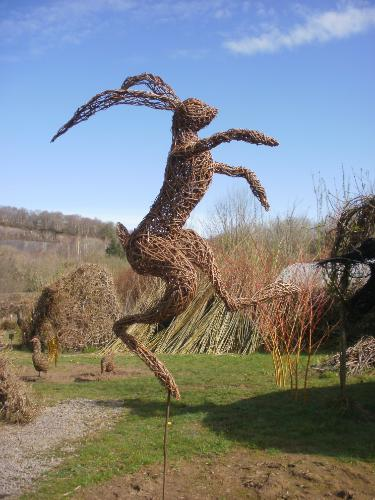 Mad March Hare by Joolz - Use the 'Create Similar' button to commission an artist to create your own artwork.