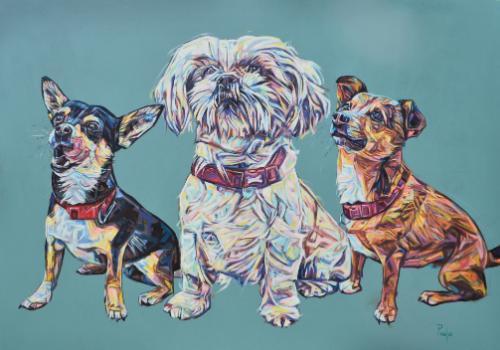 Artwork Bella, Bonnie and Buddie