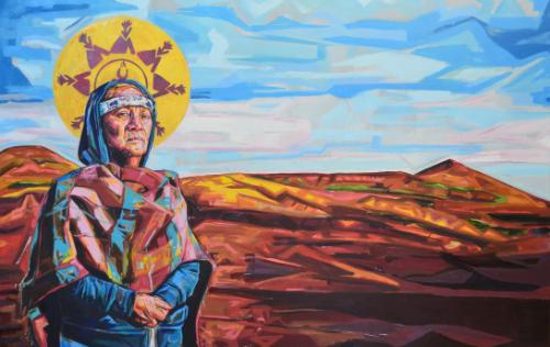 Artwork Standing Rock Madonna