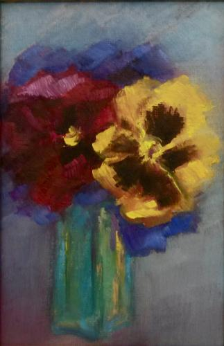 Artwork Pansies
