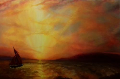 Artwork Estuary Gold