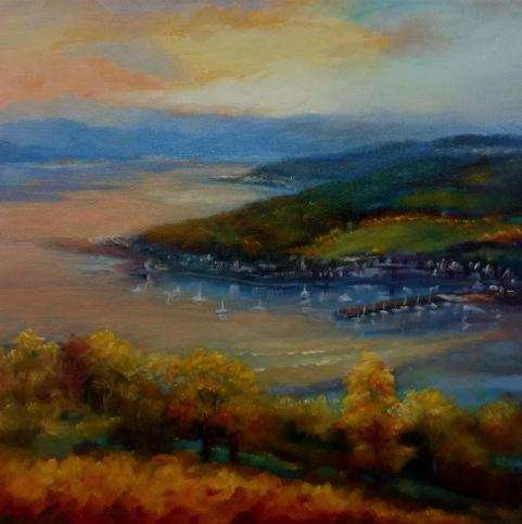 Artwork Rothesby Bay October