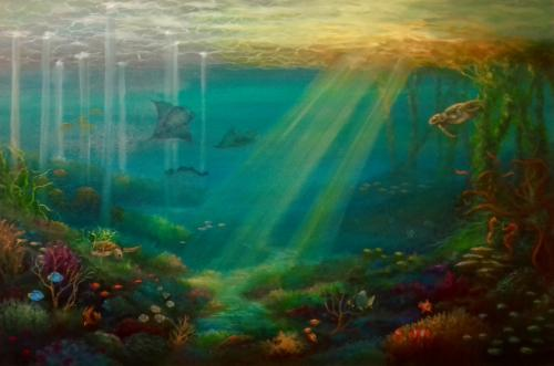 Artwork Tropical Rays