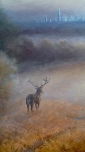 Richmond Park, London View by LeeC - Use the 'Create Similar' button to commission an artist to create your own artwork.