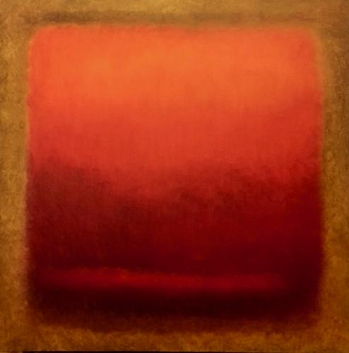 Artwork Red and Gold