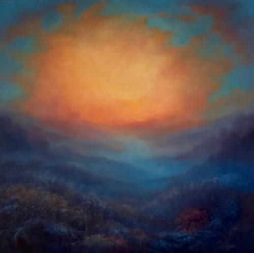 Beyond the Blue by LeeC - Use the 'Create Similar' button to commission an artist to create your own artwork.