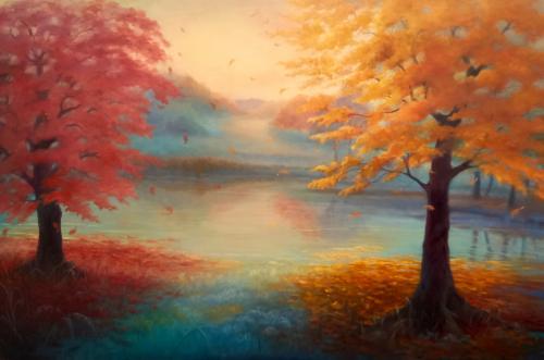 Artwork Autumn Drift