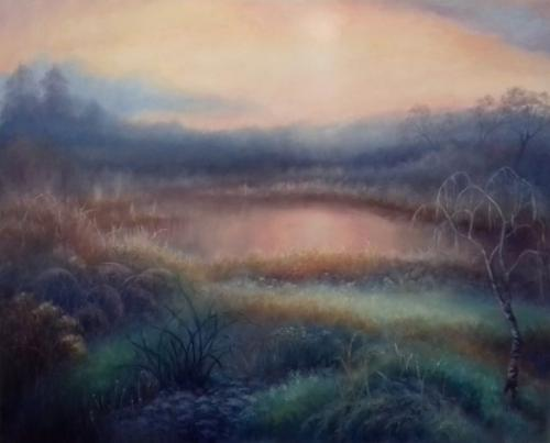 Autumn Mist by LeeC - Use the 'Create Similar' button to commission an artist to create your own artwork.
