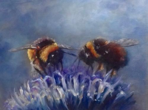 Artwork Two Bees
