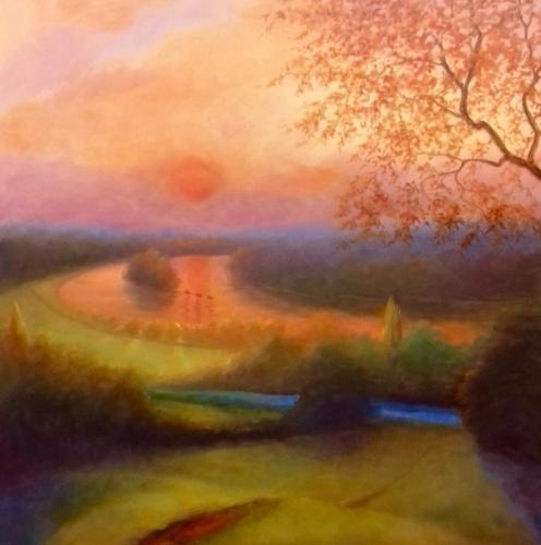 Artwork Petersham Meadow - October