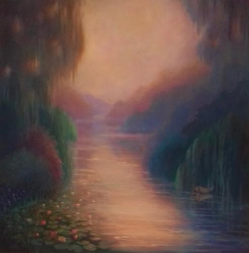 Artwork Tribute to Monet