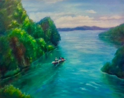 Hi Land Bay, Viet Nam by LeeC - Use the 'Create Similar' button to commission an artist to create your own artwork.