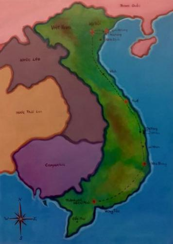 Vietnam Journey by LeeC - Use the 'Create Similar' button to commission an artist to create your own artwork.