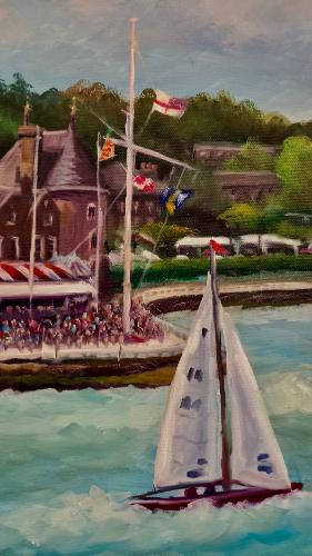 Cowes, Isle of Wight by LeeC - Use the 'Create Similar' button to commission an artist to create your own artwork.