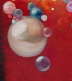 Bubbles and Pearls by LeeC - Use the 'Create Similar' button to commission an artist to create your own artwork.
