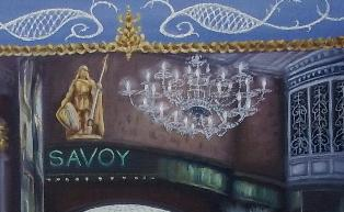 Savoy Interior by LeeC - Use the 'Create Similar' button to commission an artist to create your own artwork.
