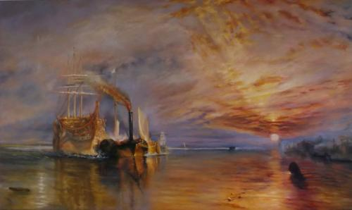 Artwork Copy of Fighting Temeraire by Turner