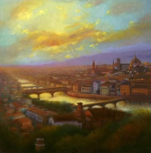 Artwork Florence Sunset
