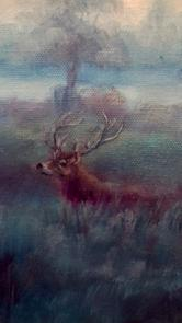 Bushy Park Morning by LeeC - Use the 'Create Similar' button to commission an artist to create your own artwork.