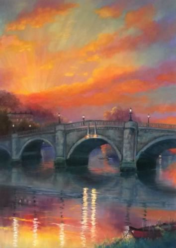 Artwork Richmond Sunset