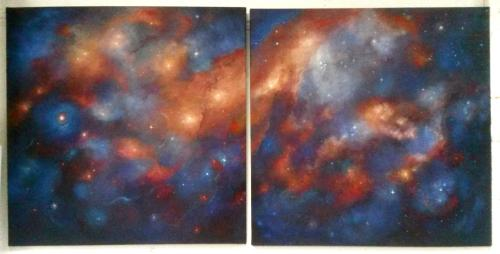 Artwork Cosmos I & II