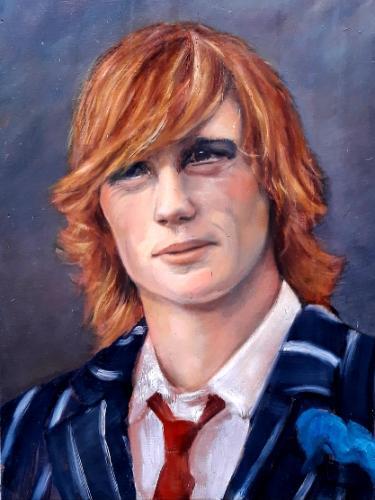Artwork Commission a portrait