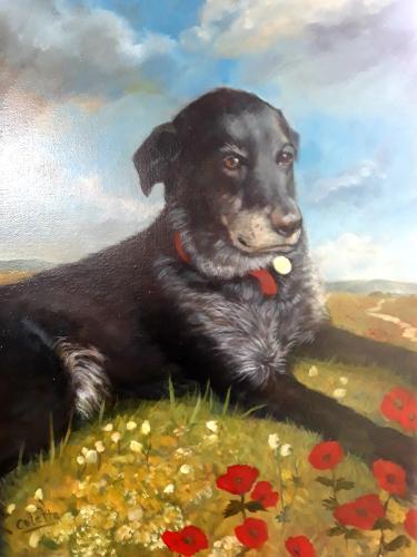 Artwork Single animal  portrait