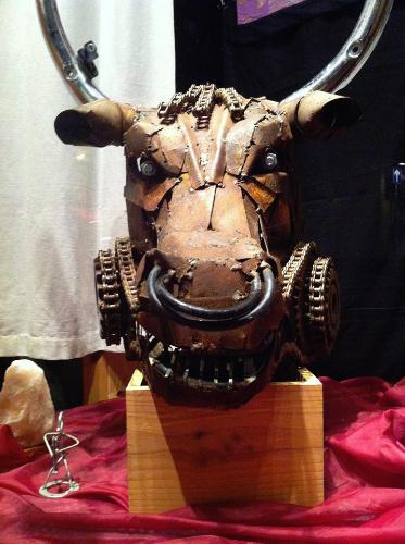 taurean bulls head! by SFN - Use the 'Create Similar' button to commission an artist to create your own artwork.