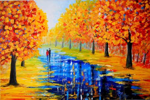 Artwork Walk through the park 1